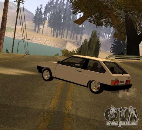 ВАЗ 2108 GVR-Version 2.0 für GTA San Andreas linke Ansicht