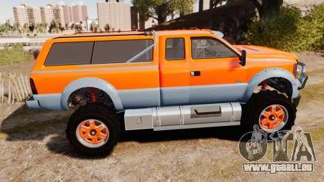 GTA V Vapid Sandking XL wheels v2 für GTA 4 linke Ansicht