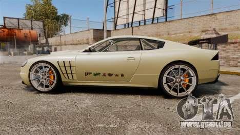 GTA V Ocelot F620 Racer für GTA 4 linke Ansicht