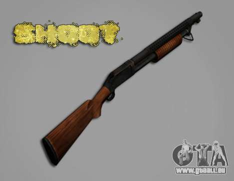 M1897 from Battle Territory Battery pour GTA San Andreas