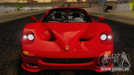 Ferrari F50 1995 pour GTA San Andreas vue arrière