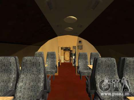 Tu-A für GTA San Andreas Innen