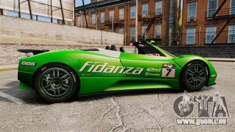 Pagani Zonda C12 S Roadster 2001 PJ6 pour GTA 4 est une gauche