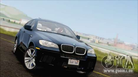BMW X6M E71 2013 300M Wheels für GTA San Andreas