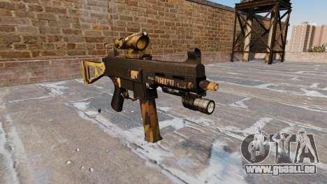 Die Maschinenpistole UMP45 Fallen Camos für GTA 4