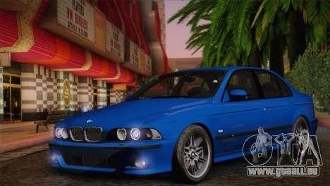 BMW E39 M5 2003 pour GTA San Andreas vue de droite