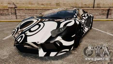 Lamborghini Aventador LP700-4 2012 [EPM] Circle pour GTA 4