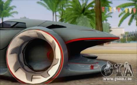 Mercedes-Benz SilverArrow pour GTA San Andreas sur la vue arrière gauche