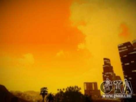 SkyBox Arrange - Real Clouds and Stars pour GTA San Andreas quatrième écran
