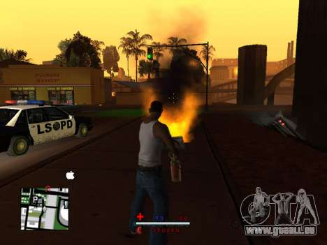 C-HUD by SaMoGoN für GTA San Andreas zweiten Screenshot