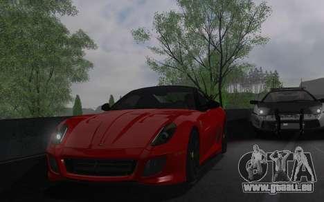 ENBSeries par AVATAR 4.0 Finale pour les faibles pour GTA San Andreas sixième écran