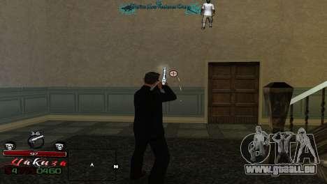 Yakudza HUD für GTA San Andreas dritten Screenshot