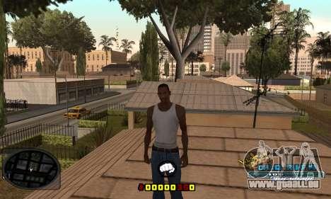 C-HUD Old-Rifa pour GTA San Andreas