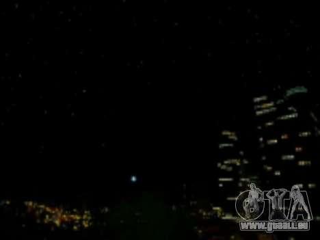 SkyBox Arrange - Real Clouds and Stars pour GTA San Andreas troisième écran