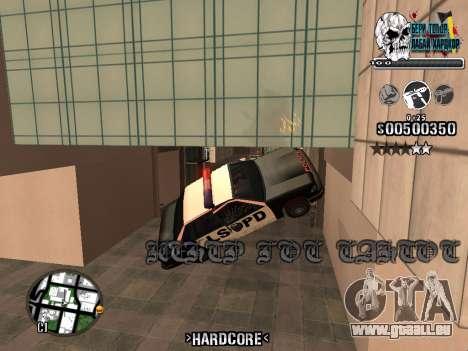 C-HUD Hardcore By KD pour GTA San Andreas huitième écran