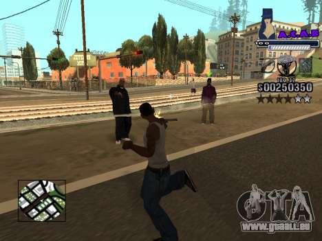 C-HUD new A.C.A.B pour GTA San Andreas sixième écran