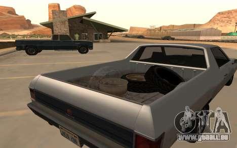 Picador GTA 5 pour GTA San Andreas sur la vue arrière gauche