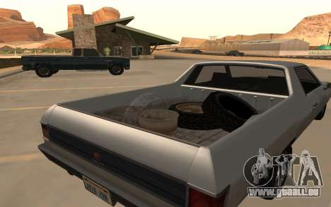 Picador GTA 5 für GTA San Andreas zurück linke Ansicht
