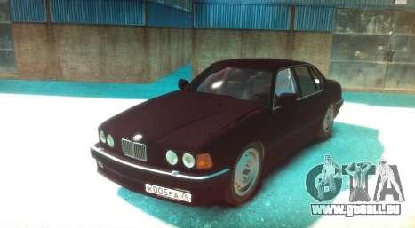 BMW 735iL E32 ver 2 pour GTA 4