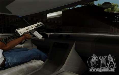 Feltzer hard top pour GTA San Andreas vue intérieure