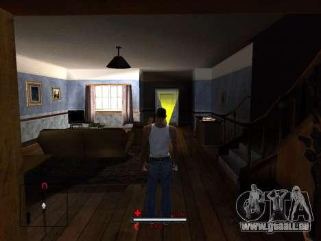 C-HUD by SaMoGoN pour GTA San Andreas troisième écran