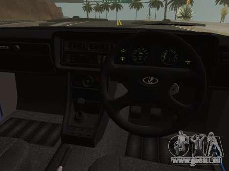 VAZ-2107 Riva für GTA San Andreas Rückansicht