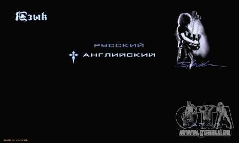 Heavy Metal Menu V.1 für GTA San Andreas achten Screenshot