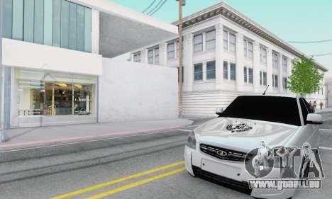 VAZ 2170 für GTA San Andreas linke Ansicht