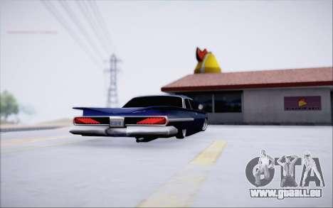 Voodoo Low Car v.1 pour GTA San Andreas vue de droite