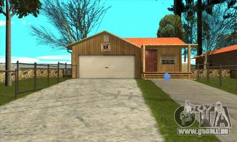 Neues Haus von Sijia in Palomino Cry für GTA San Andreas