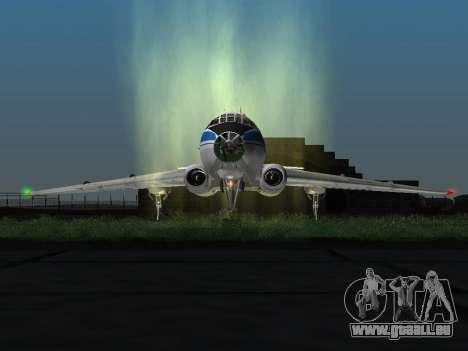 Tu-A für GTA San Andreas linke Ansicht