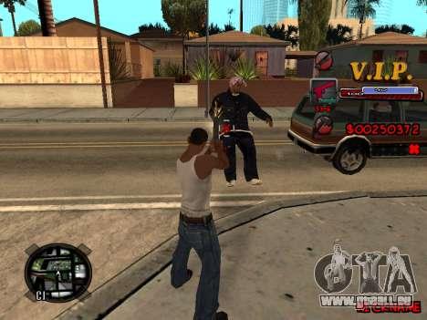 C-HUD VIP pour GTA San Andreas deuxième écran