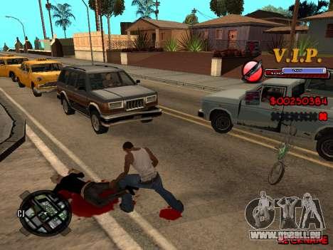 C-HUD VIP pour GTA San Andreas troisième écran