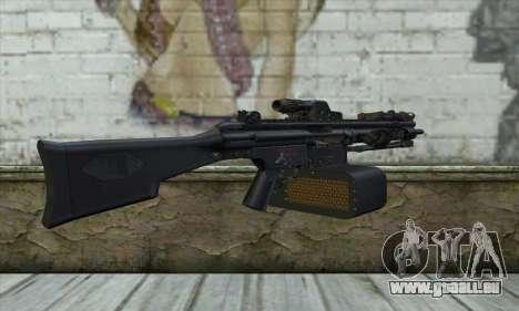 HK 23E pour GTA San Andreas deuxième écran