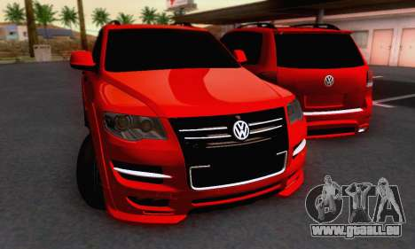 Volkswagen Touareg Mansory pour GTA San Andreas