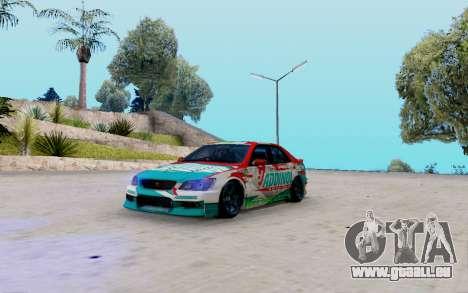 Toyota Altezza Addinol pour GTA San Andreas