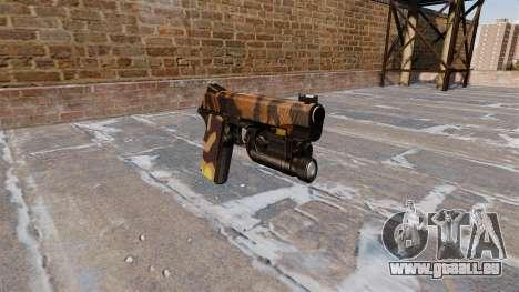 Halb-automatische Pistole Kimber Fallen Camos für GTA 4