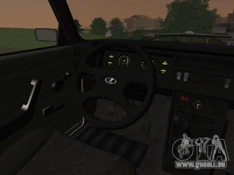 VAZ-2107 pour GTA San Andreas vue de côté