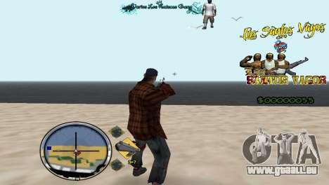 Vagos HUD für GTA San Andreas zweiten Screenshot