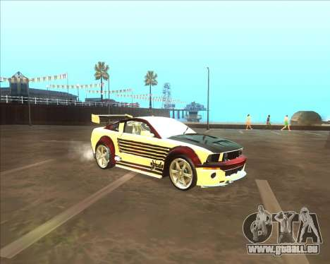 Ford Mustang GT из NFS MW pour GTA San Andreas