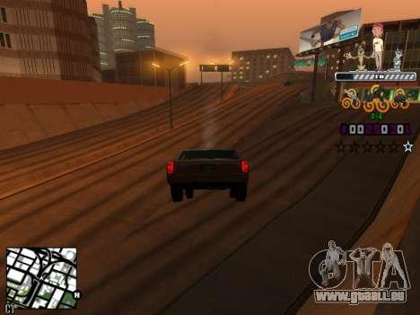 C-HUD Prostokvashino pour GTA San Andreas troisième écran
