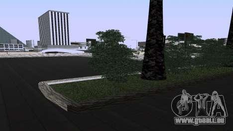 Neue Texturen Bahnhof in Las Venturas für GTA San Andreas dritten Screenshot