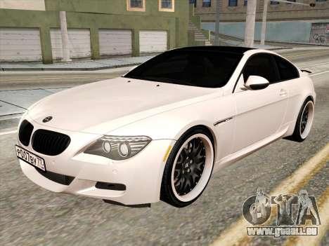 BMW M6 Hamann pour GTA San Andreas