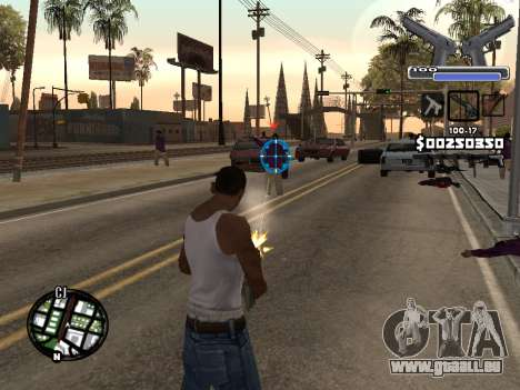 C-HUD Deagle für GTA San Andreas zweiten Screenshot
