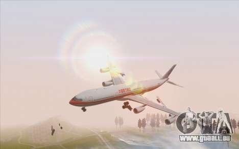 Airbus A340-300 China Eastern für GTA San Andreas