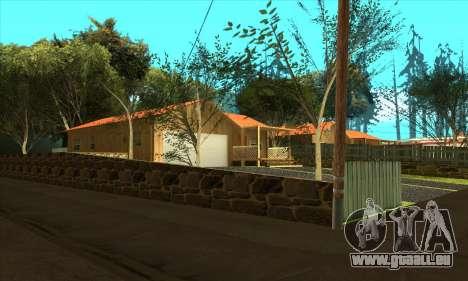 Nouveau village Gillemyr v1.0 pour GTA San Andreas deuxième écran