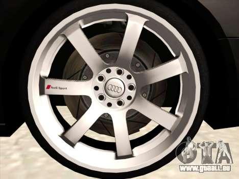 Audi S4 pour GTA San Andreas vue de côté