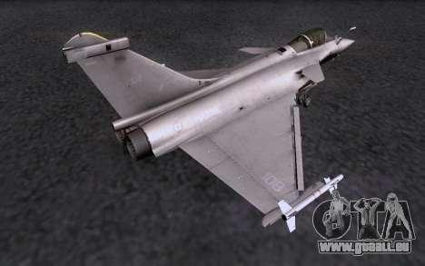Dassault Rafale M pour GTA San Andreas vue de droite