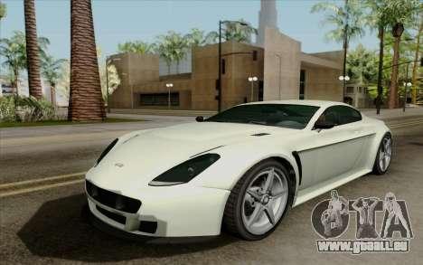 Rapid GT pour GTA San Andreas laissé vue