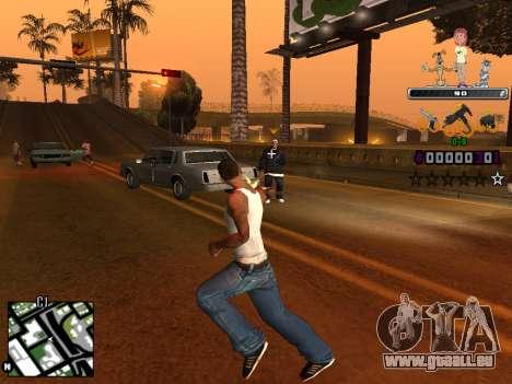 C-HUD Prostokvashino pour GTA San Andreas